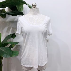 NWT BP White Scoop Neck T-shirt
